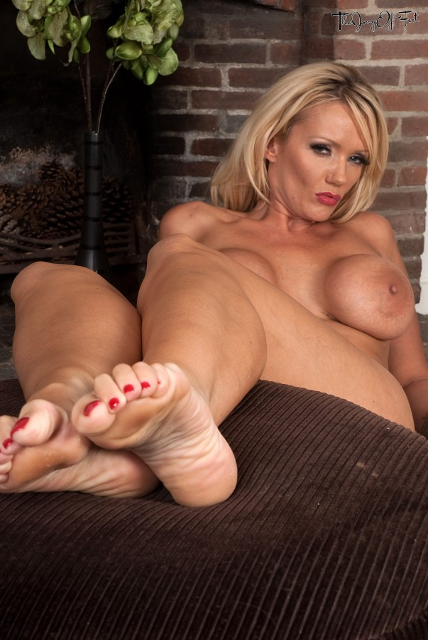 Blonde Milf Feet